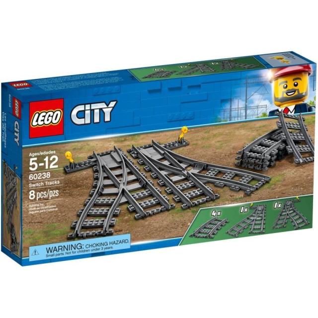 Obrázek produktu LEGO CITY 60238 Výhybky