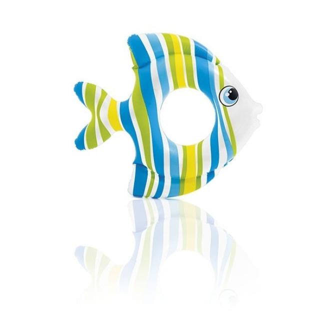 Obrázek produktu Intex 59223 Nafukovací kruh ve tvaru rybičky modrý