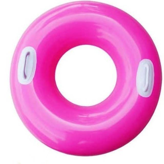 Obrázek produktu Intex 59258 Kruh plovací s úchyty 76cm růžový