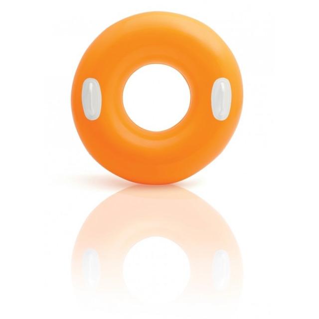 Obrázek produktu Intex 59258 Kruh plovací s úchyty 76cm oranžový
