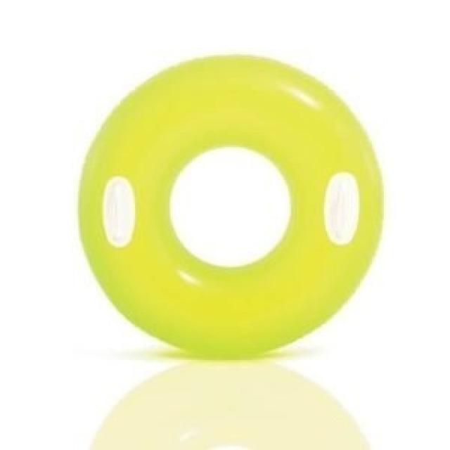 Obrázek produktu Intex 59258 Kruh plovací s úchyty 76cm žlutý
