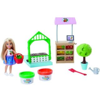 Obrázek 1 produktu Barbie Chelsea zahradnice herní set, Mattel FRH75