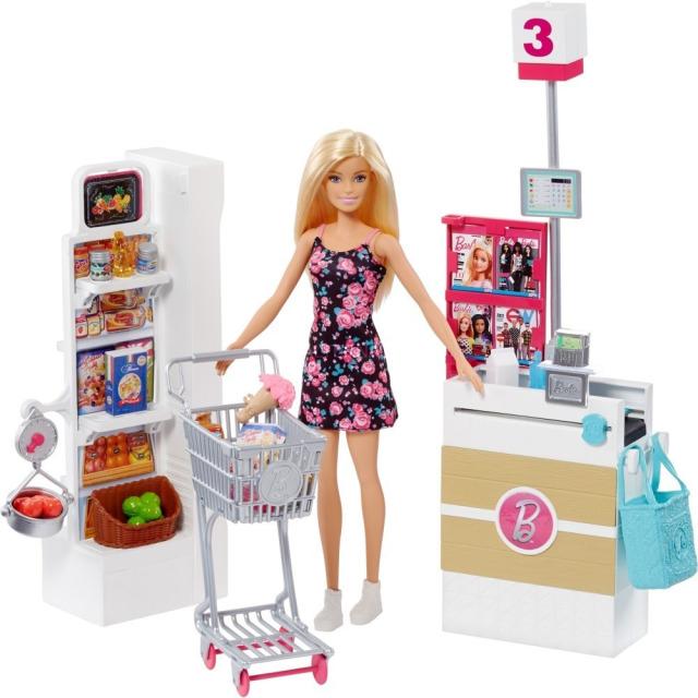 Obrázek produktu Barbie Supermarket herní set, Mattel FRP01