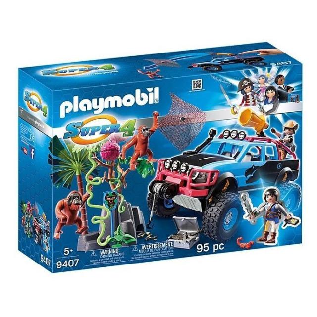Obrázek produktu Playmobil 9407 Monster truck s Alexem a Rock Brock