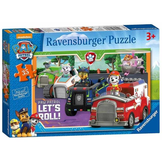 Obrázek produktu Ravensburger 08617 Puzzle Tlapková Patrola 35 dílků