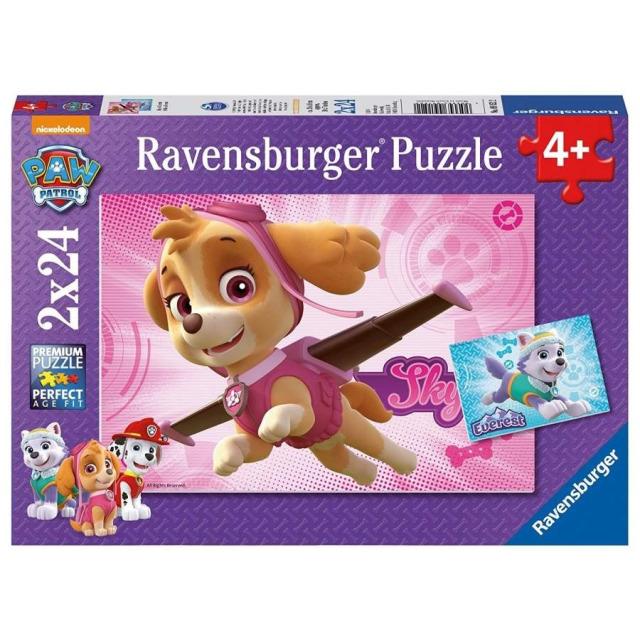 Obrázek produktu Ravensburger 09152 Puzzle Tlapková Patrola 2x24 dílků