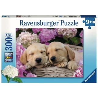 Obrázek 1 produktu Ravensburger 13235 Puzzle Sladcí psi v košíku 300 dílků