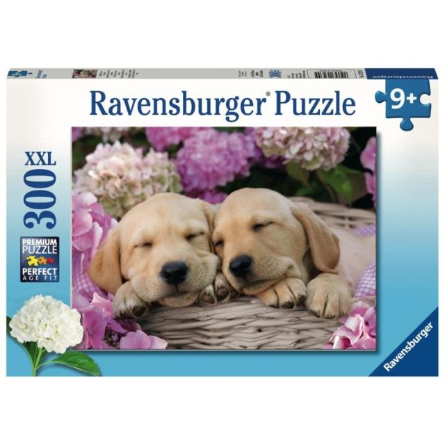 Obrázek produktu Ravensburger 13235 Puzzle Sladcí psi v košíku 300 dílků
