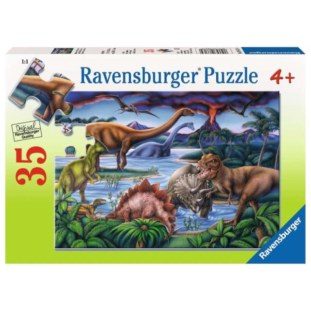 Obrázek produktu Ravensburger Puzzle Dinosauří hřiště 35d.