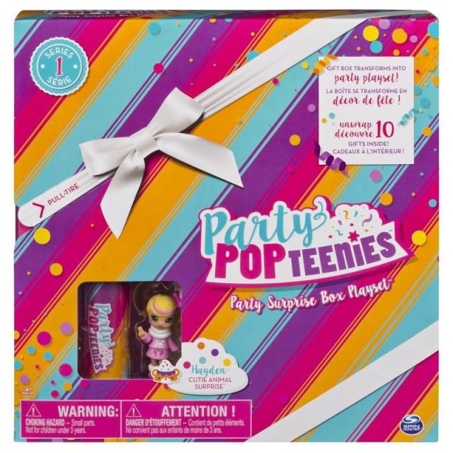 Obrázek produktu Party POPteenies Hrací sada pro párty panenky Hayden