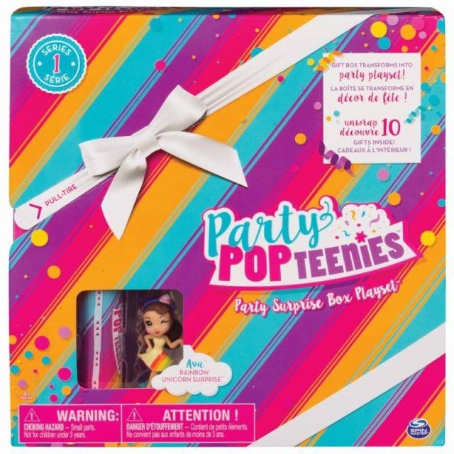 Obrázek produktu Party POPteenies Hrací sada pro párty panenky Ava