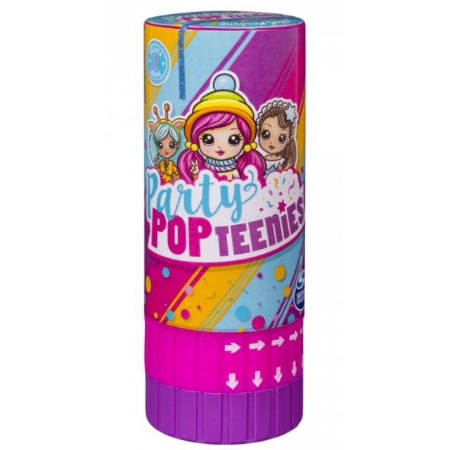Obrázek produktu Party POPteenies Párty tuba s konfetami a panenkou