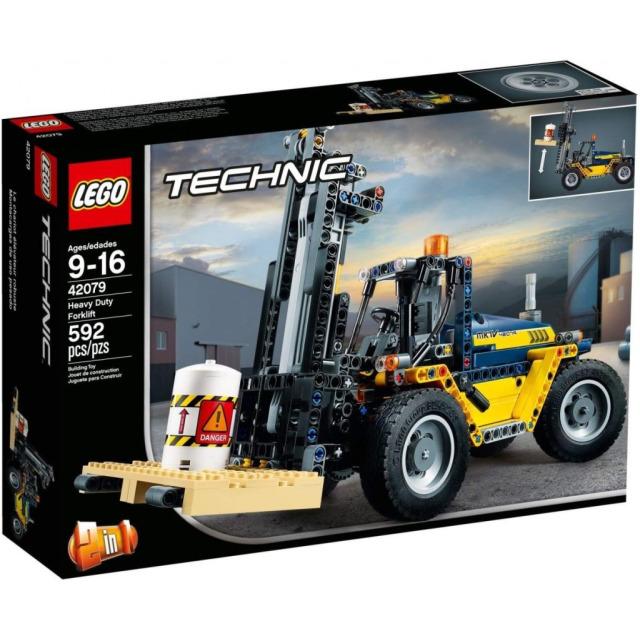 Obrázek produktu LEGO TECHNIC 42079 Výkonný vysokozdvižný vozík