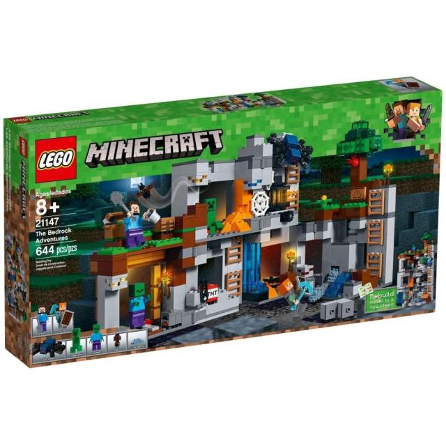 Obrázek produktu LEGO Minecraft 21147 Skalní dobrodružství