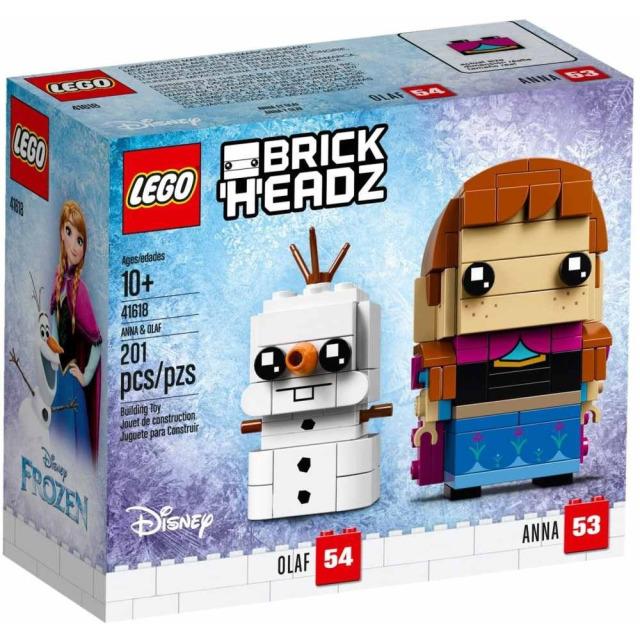 Obrázek produktu LEGO BrickHeadz 41618 Anna a Olaf