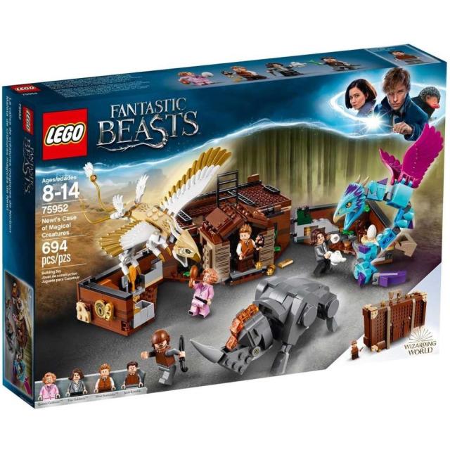 Obrázek produktu LEGO Harry Potter™ 75952 Mlokův kufr plný kouzelných tvorů