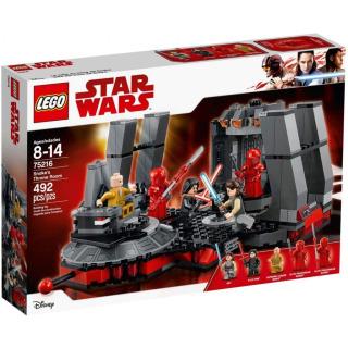 Obrázek 1 produktu LEGO Star Wars 75216 Snokeův trůní sál