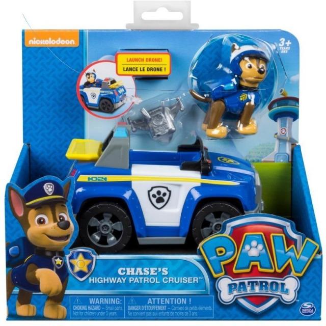Obrázek produktu Tlapková patrola Chases Patrol Cruiser Základní vozidlo s figurkou