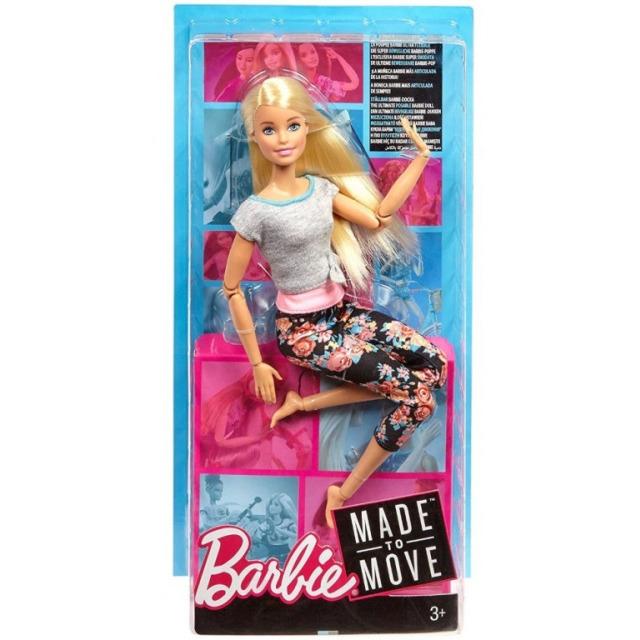 Obrázek produktu Barbie Panenka V pohybu, blondýna, Mattel FTG81