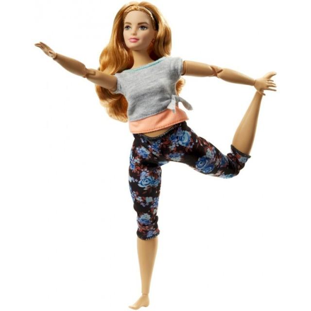 Obrázek produktu Barbie Panenka V pohybu, rusovláska, Mattel FTG84