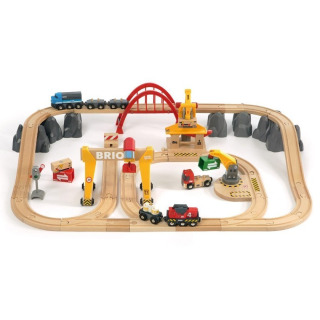 Obrázek 1 produktu BRIO 33097 Nákladní železniční luxusní sada