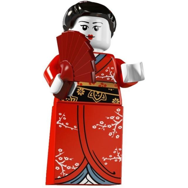Obrázek produktu LEGO 8804 Minifigurka Gejša