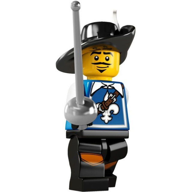 Obrázek produktu LEGO 8804 Minifigurka Mušketýr