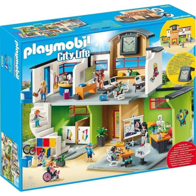 Obrázek produktu Playmobil 9453 Velká škola s příslušenstvím