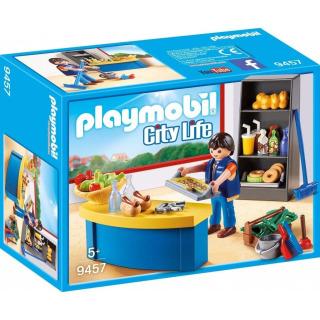 Obrázek 1 produktu Playmobil 9457 Školník a stánek s občerstvením