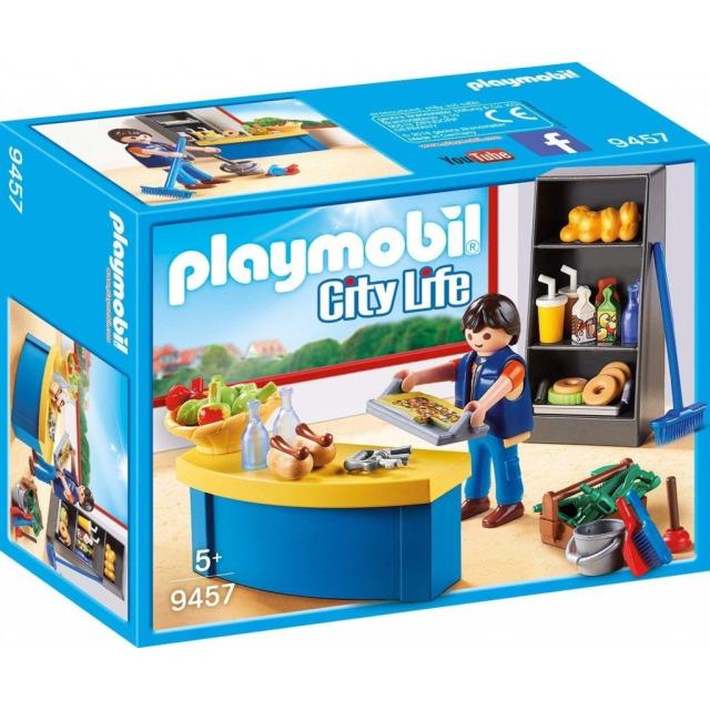 Obrázek produktu Playmobil 9457 Školník a stánek s občerstvením
