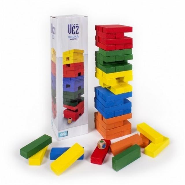 Obrázek produktu Albi Velká barevná věž s kostkou