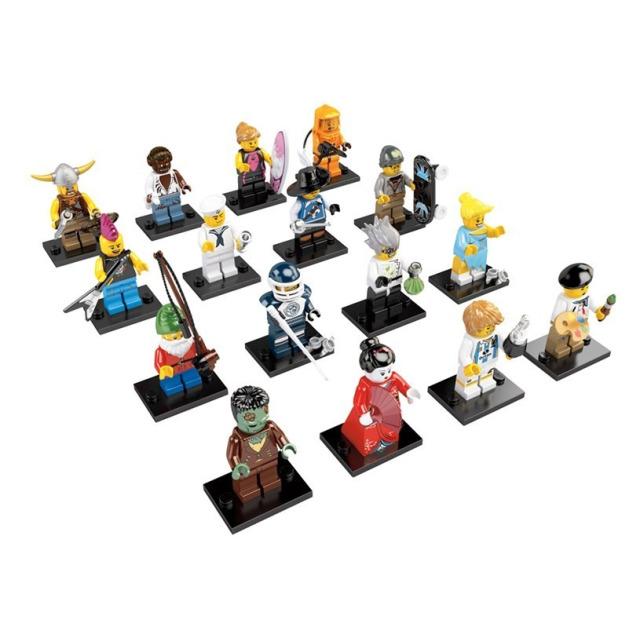 Obrázek produktu LEGO 8804 Kolekce 16 minifigurek série 4