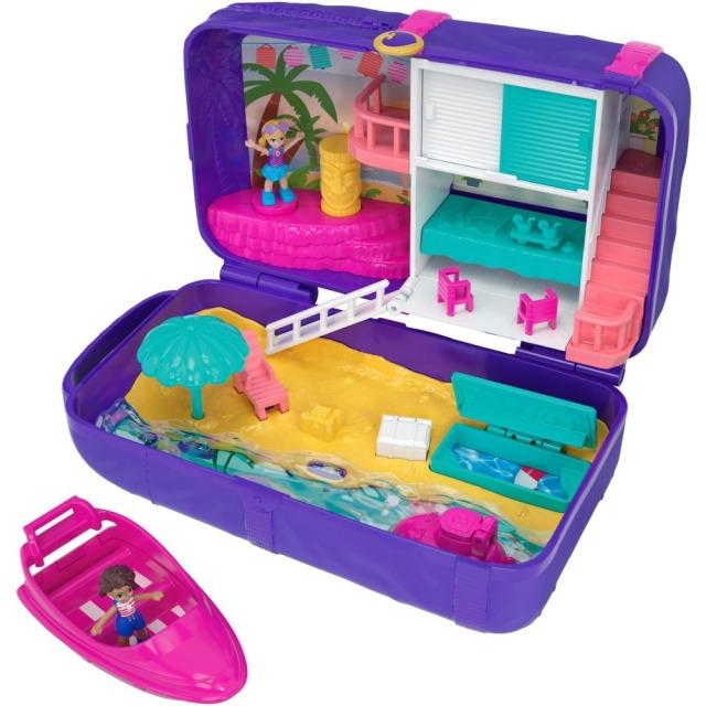Obrázek produktu Polly Pocket Zábava na pláži, Mattel FRY40
