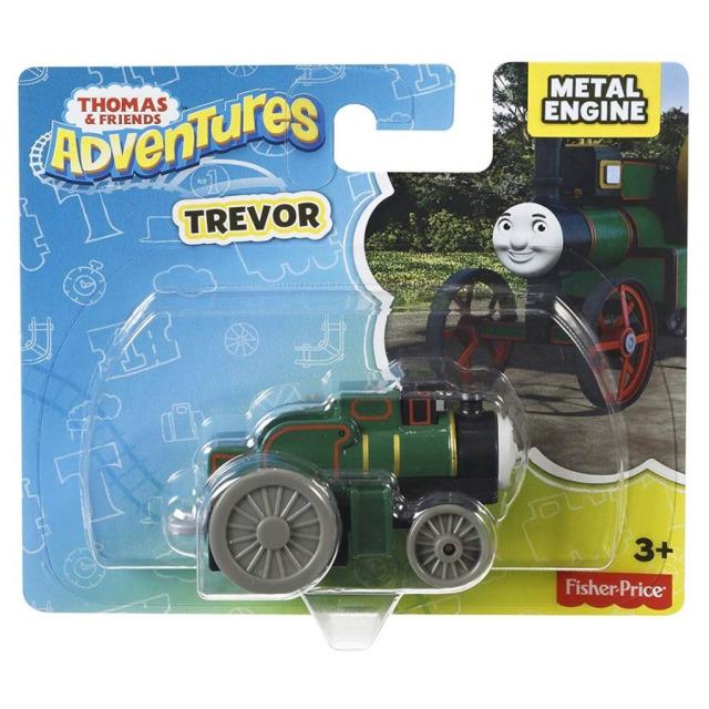 Obrázek produktu Tomáš a přátelé kovová mašinka Trevor, Mattel DXR90