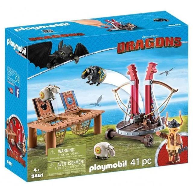 Obrázek produktu Playmobil 9461 Tlamoun Sopťák s prakem na ovce