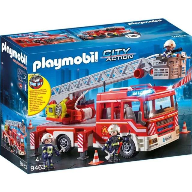 Obrázek produktu Playmobil 9463 Požární auto s výsuvným žebříkem