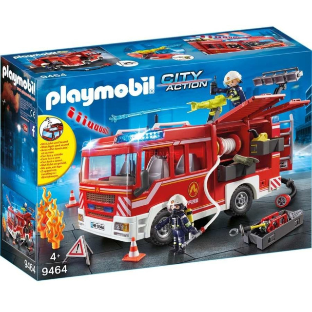 Obrázek produktu Playmobil 9464 Hasičské auto se stříkačkou