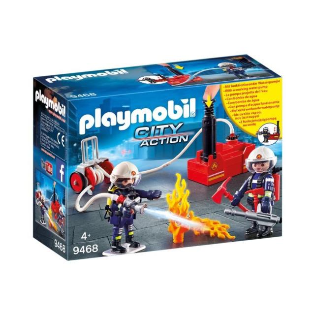 Obrázek produktu Playmobil 9468 Hasiči s hasicí pumpou