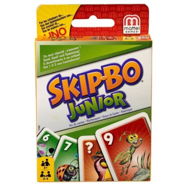 Obrázek produktu Mattel Skip-Bo Junior karetní hra, T1882