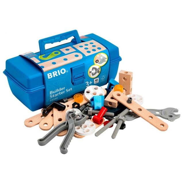 Obrázek produktu BRIO Builder 34586 Startovací set v kufříku 48 ks