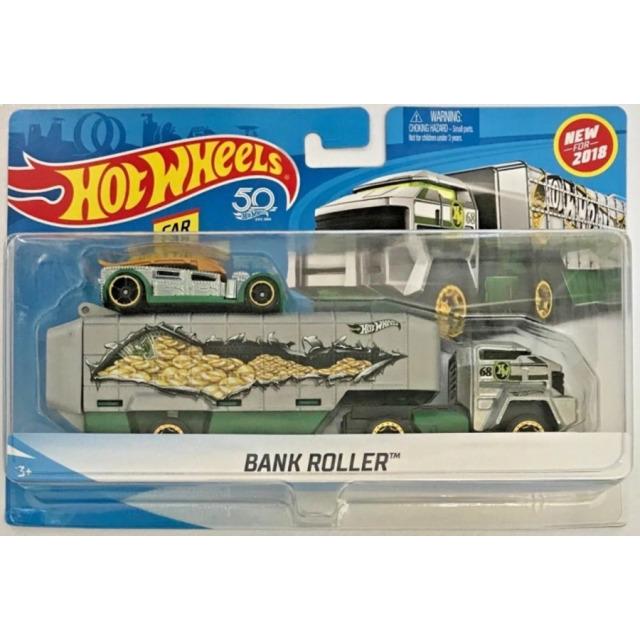 Obrázek produktu Hot Wheels Náklaďák Bank Roller, Mattel FKW87