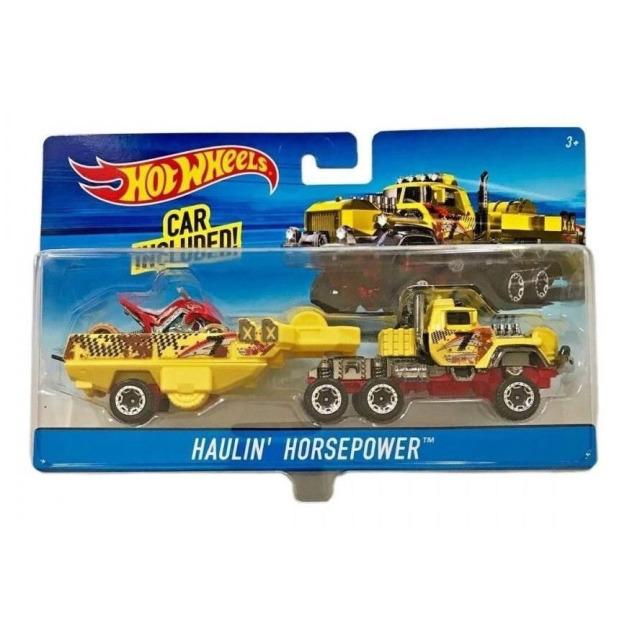 Obrázek produktu Hot Wheels Náklaďák Haulin´ Horsepower, Mattel DXB45