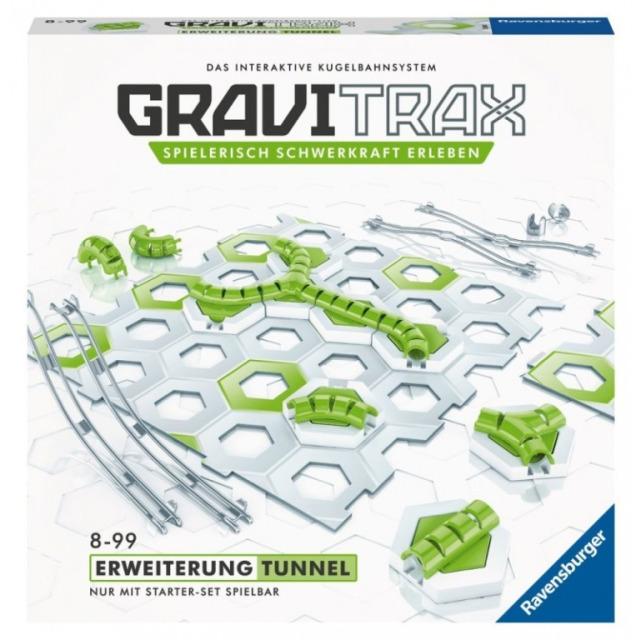 Obrázek produktu GraviTrax Rozšiřující sada Tunely, Ravensburger 26077 (27614)