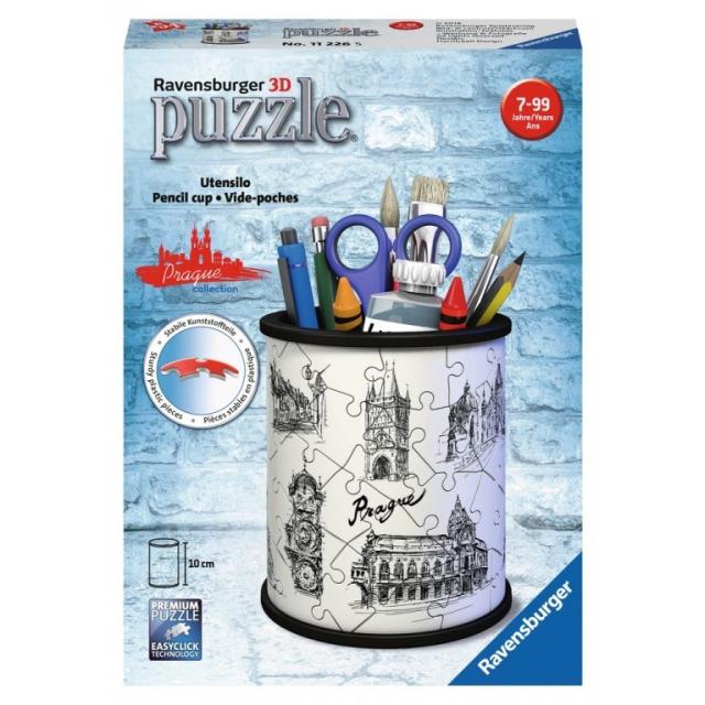 Obrázek produktu Ravensburger 11226 Puzzle 3D Stojan na tužky kresba Prahy 54 dílků