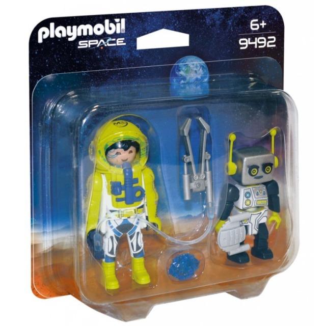 Obrázek produktu Playmobil 9492 Kosmonaut a robot