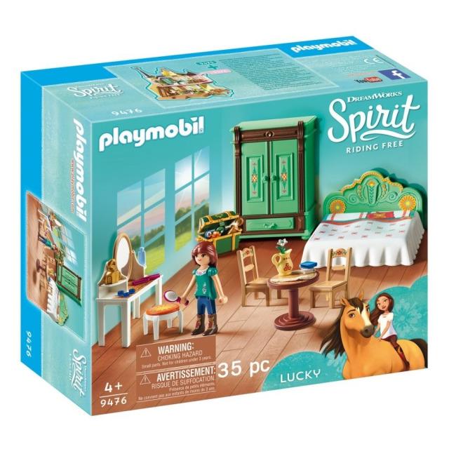 Obrázek produktu Playmobil 9476 Ložnice pro Lucky