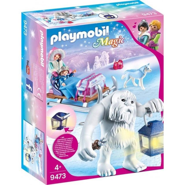 Obrázek produktu Playmobil 9473 Sněžný muž a sáně