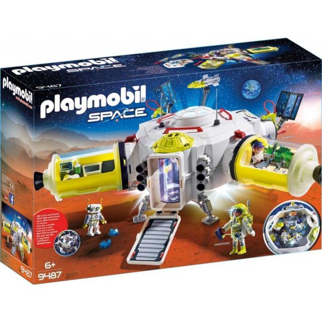 Obrázek produktu Playmobil 9487 Vesmírná stanice na Marsu
