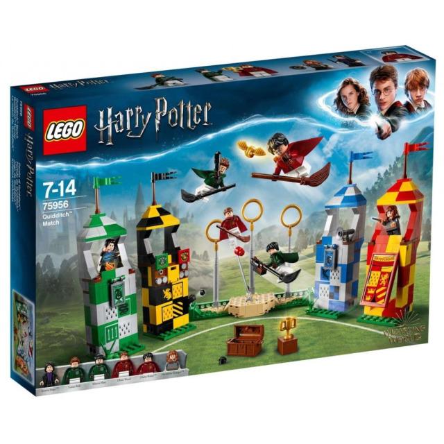 Obrázek produktu LEGO Harry Potter™ 75956 Famfrpálový zápas