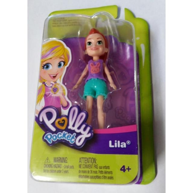 Obrázek produktu Polly Pocket Panenka Lila, Mattel FWY25